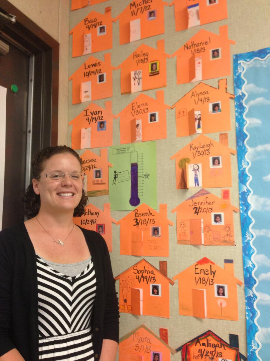 Image of Oak Ridge teacher writes of visiting students' homes for national magazine