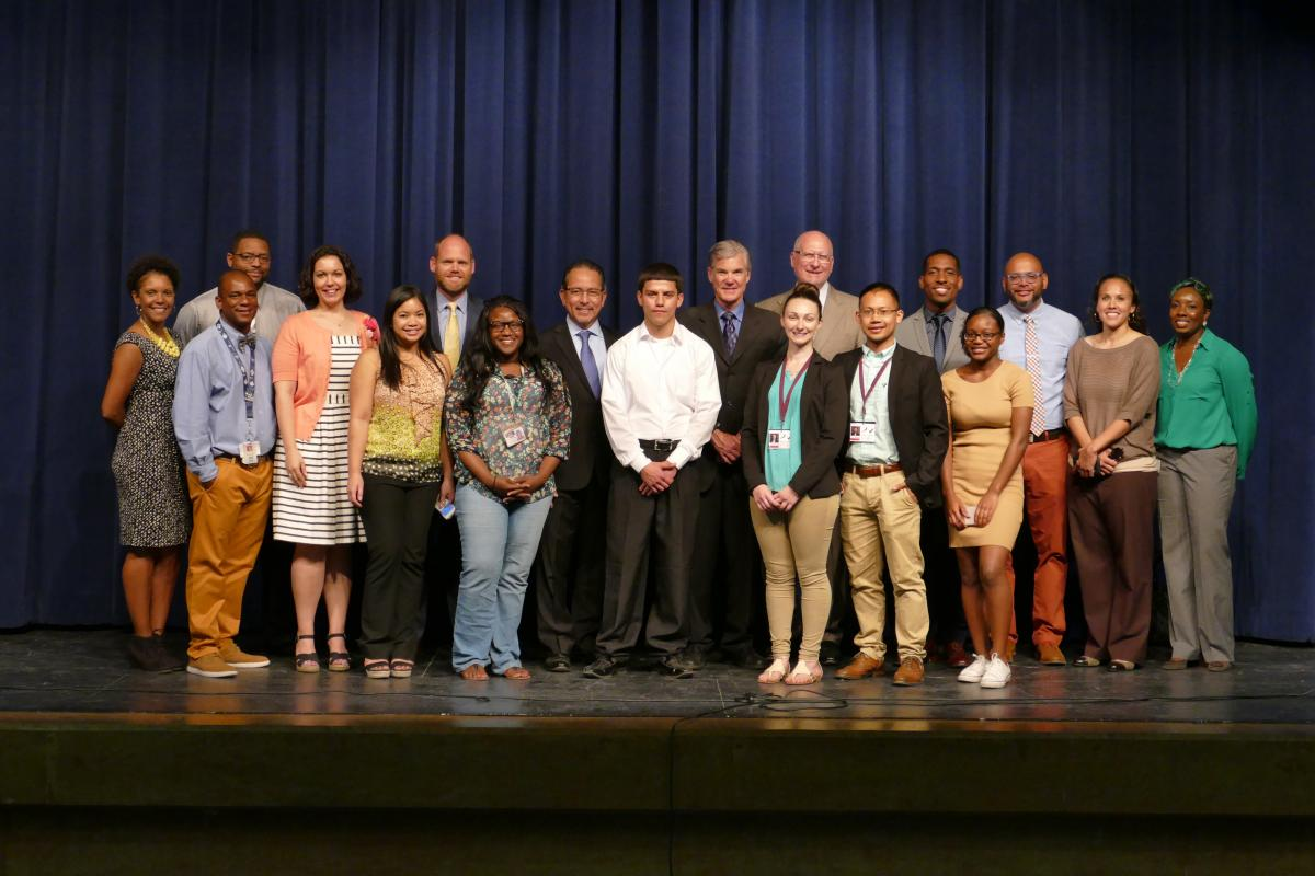 Image of Torlakson visits Kennedy to promote more funding for after-school programs