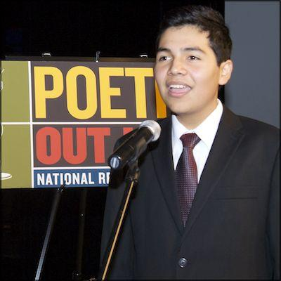Image of Kennedy student crowned 2013 Poetry Out Loud champion