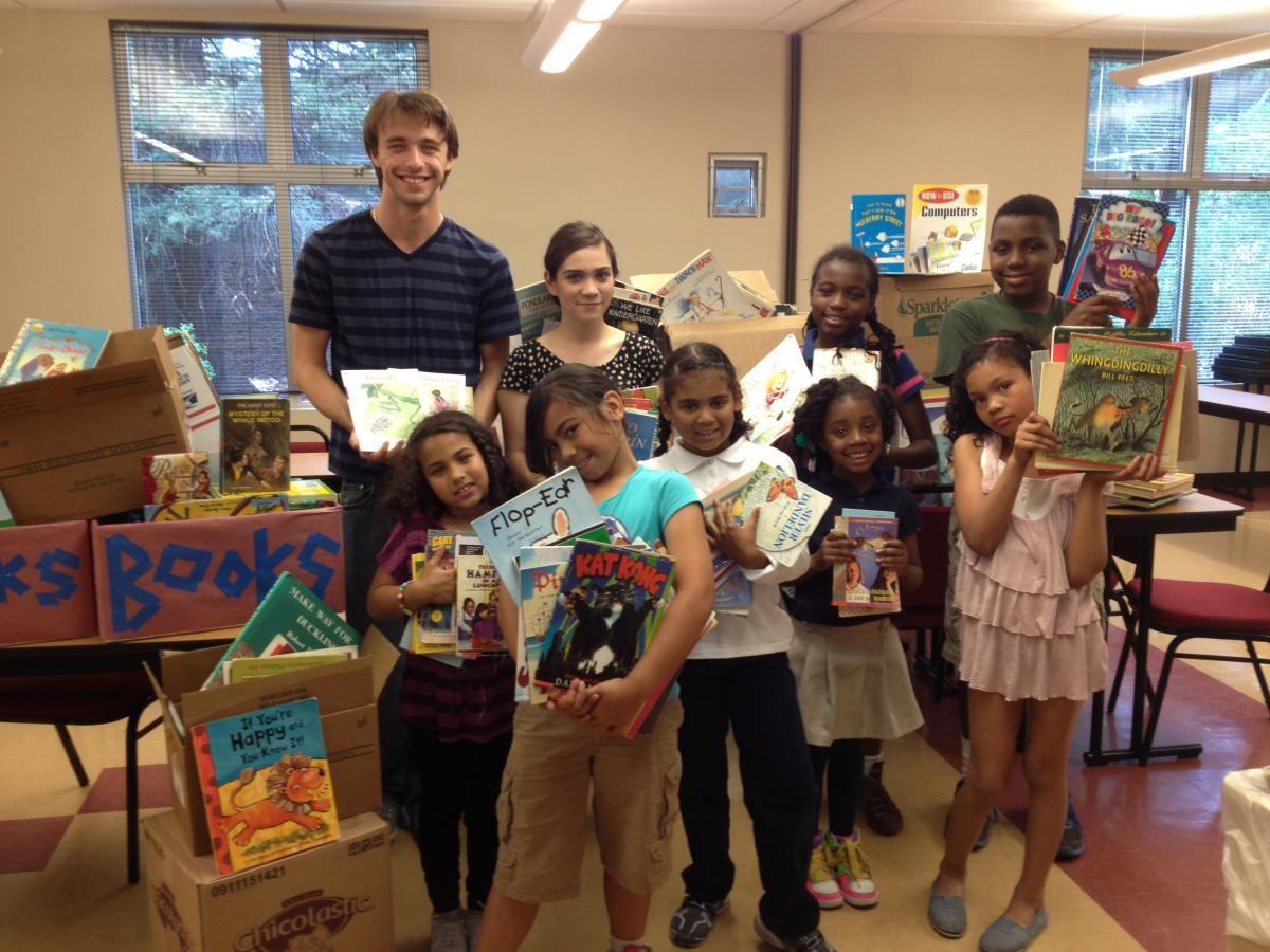Image of West Campus student coordinates service project with Mark Twain, Salvation Army