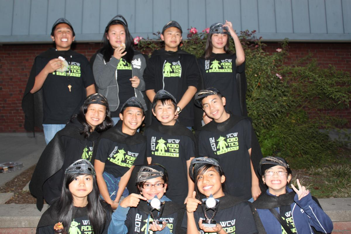 Image of Will C. Wood robotics teams move on to regional competition