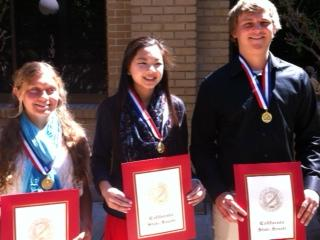 Image of Student athletes from JFK, CKM and West Campus win scholarships