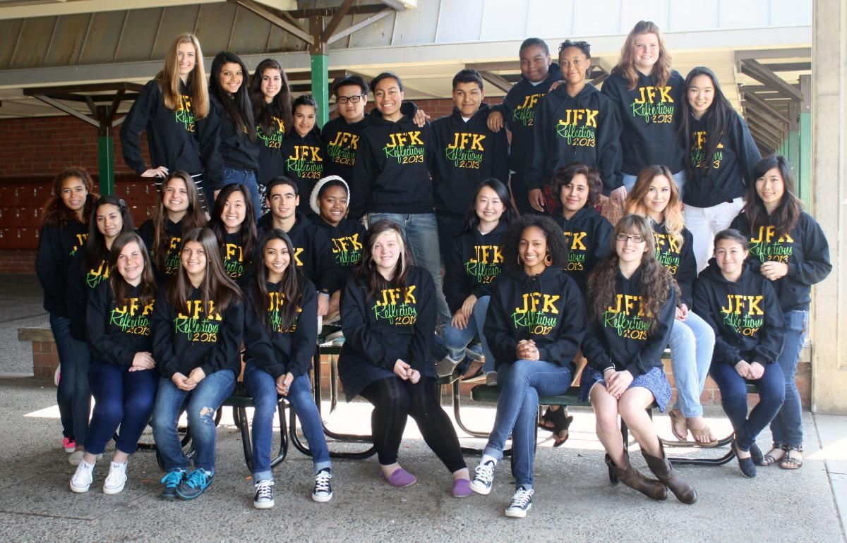 Image of Kennedy yearbook staff wins Herff Jones Excellence Award