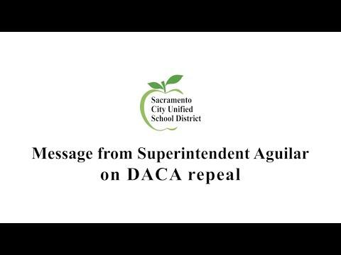 "Superintendent Aguilar: ""We Will Not Abandon Dreamers"""