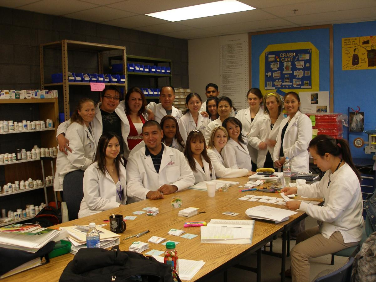 Pharmacy Technician students