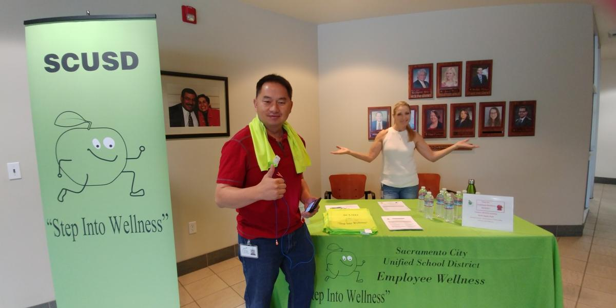 Step Into Wellness !  Walking Path Kick Off!