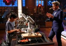 Wadhwani with Gordon Ramsey